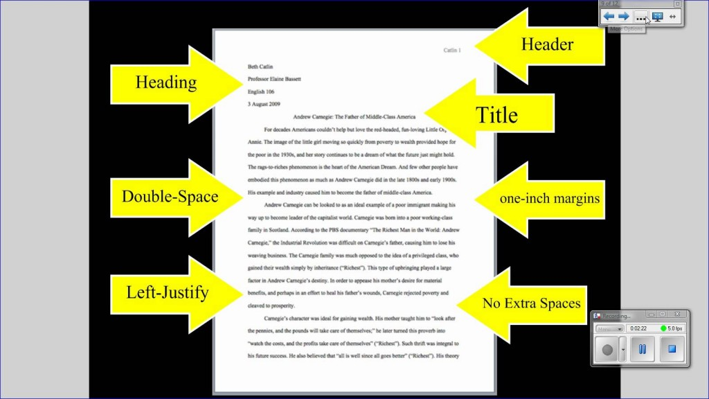 019 Essay Example Standard Format Mla Tutorial Basic Paper Formatting Youtube College L Impressive For Apa Essay/report Ielts Large