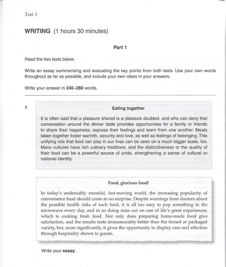 College admition essay