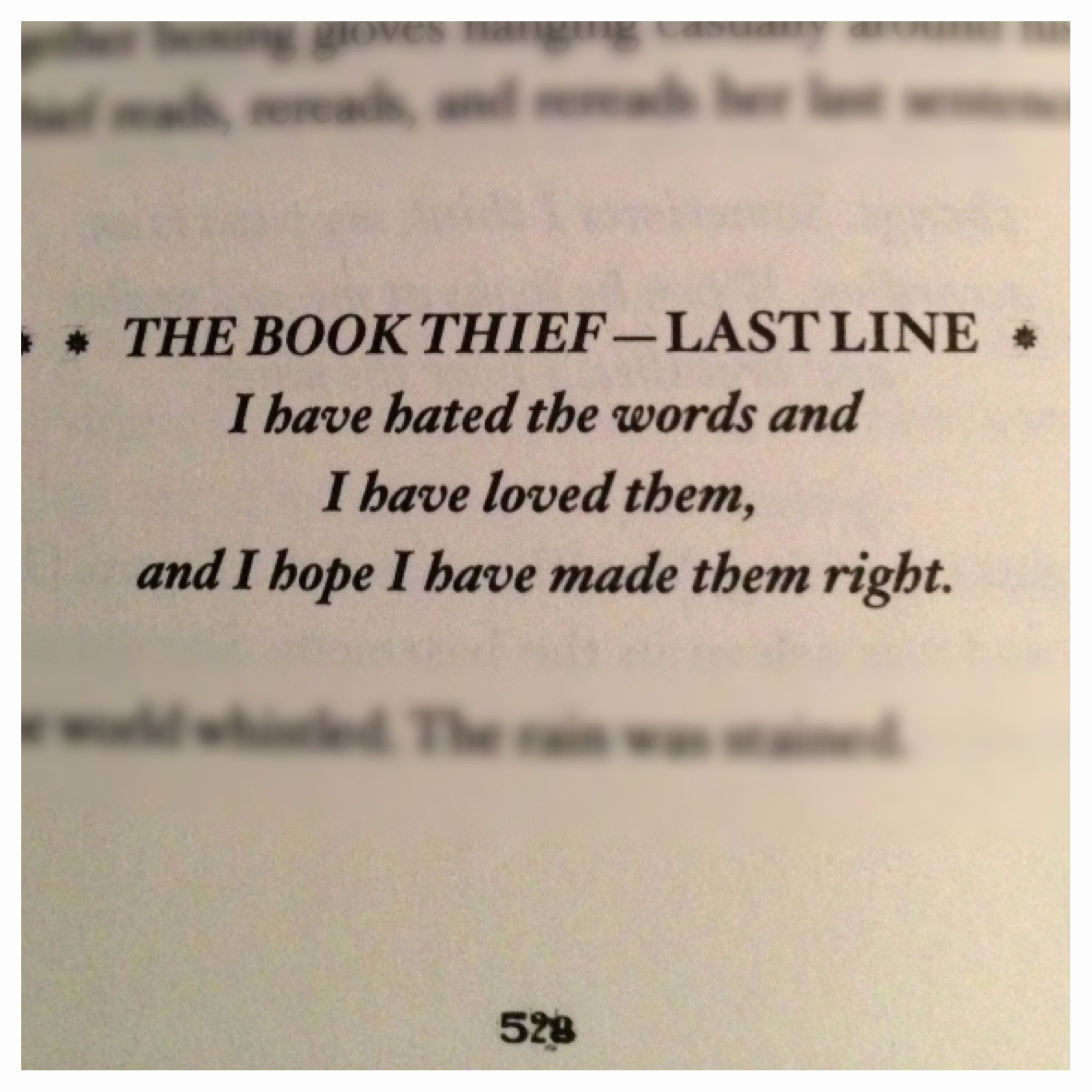 019 Essay Example The Book Thief Power Of Words Quotes ...