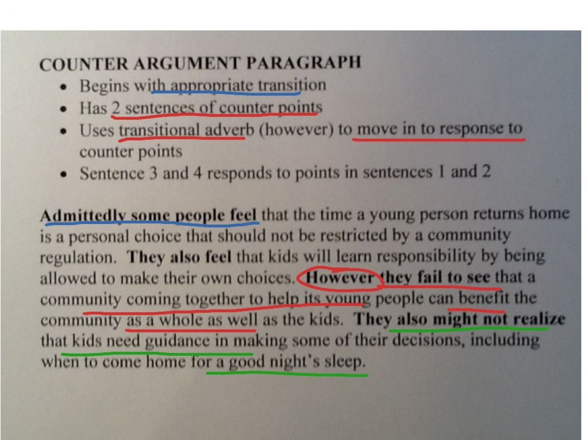 019 Essay Example What Is Counterclaim In An Argumentative Unusual A Rebuttal Paragraph Apex 1920