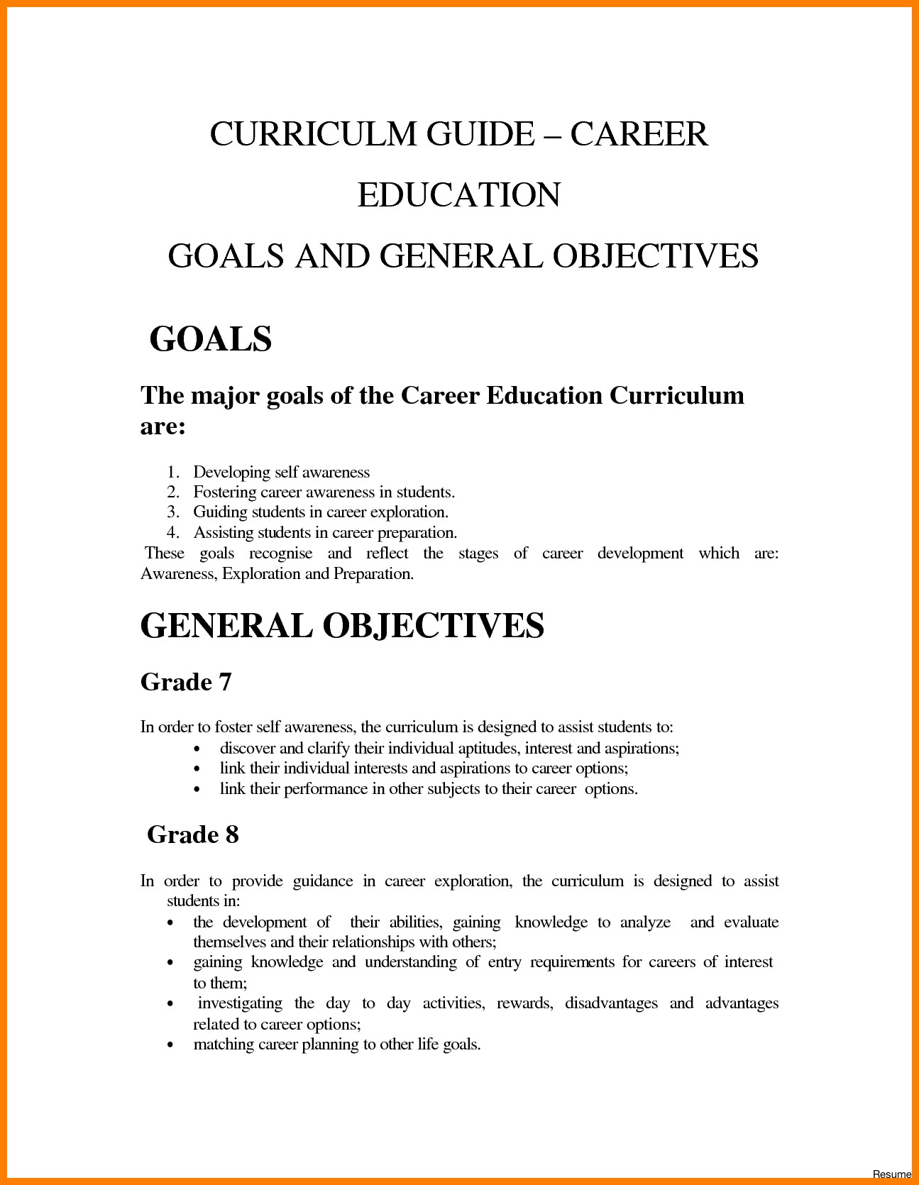 019 Essay Example Work Goals And Objectives Examples Career Goal