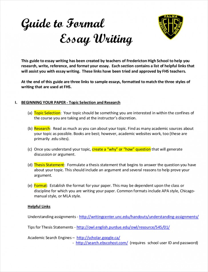 019 Essay Format Example Samples Of Formal Essays Free Pdf Download Writing Styles Sample G Creative Good Comparing Ielts On Analysis English Persuasive Stirring Outline Middle School High Template Microsoft Word 728