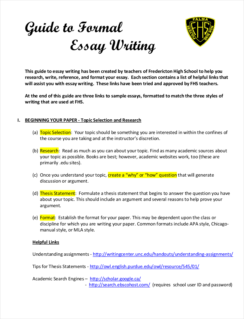 019 Essay Format Example Samples Of Formal Essays Free Pdf Download Writing Styles Sample G Creative Good Comparing Ielts On Analysis English Persuasive Stirring Mla Checker Outline Full