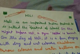 019 Holi Festival Essay Example Top Of Colours In Hindi Punjabi Language For Class 2