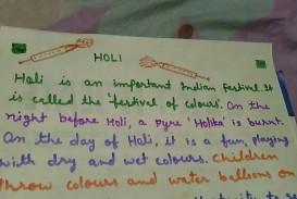 019 Holi Festival Essay Example Top In Punjabi