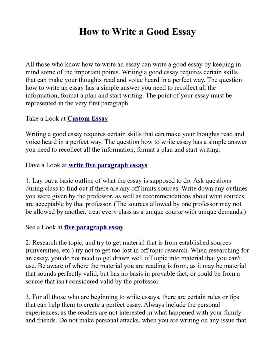 Defining oneself essay