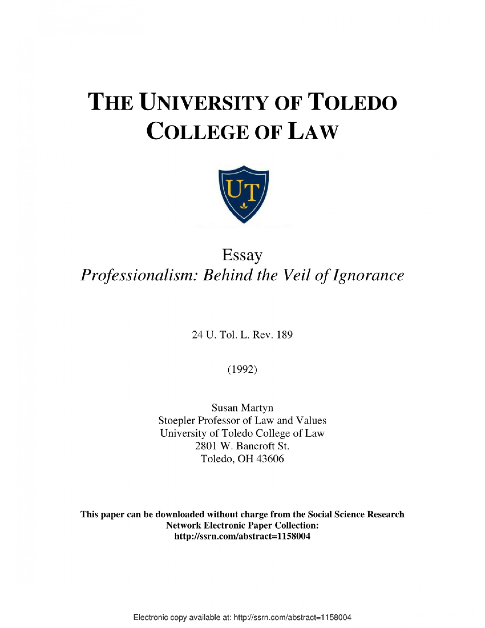 019 Largepreview Essay Example Sensational Professionalism Pdf Conclusion Teacher 1920