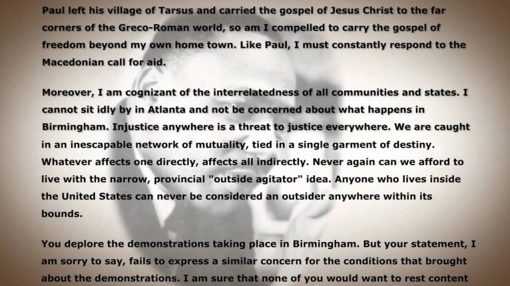 019 Letter From Birmingham Jail Ethos Pathos Logos Essay Example Top Large