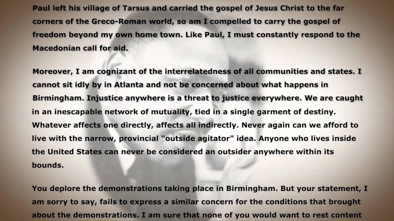 019 Letter From Birmingham Jail Ethos Pathos Logos Essay Example Top Full