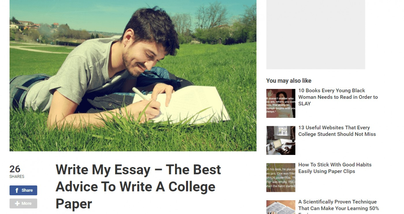 019 Lifehack My Essay Tips Example Amazing Write For Me Free Online Hub Discount Code 1400