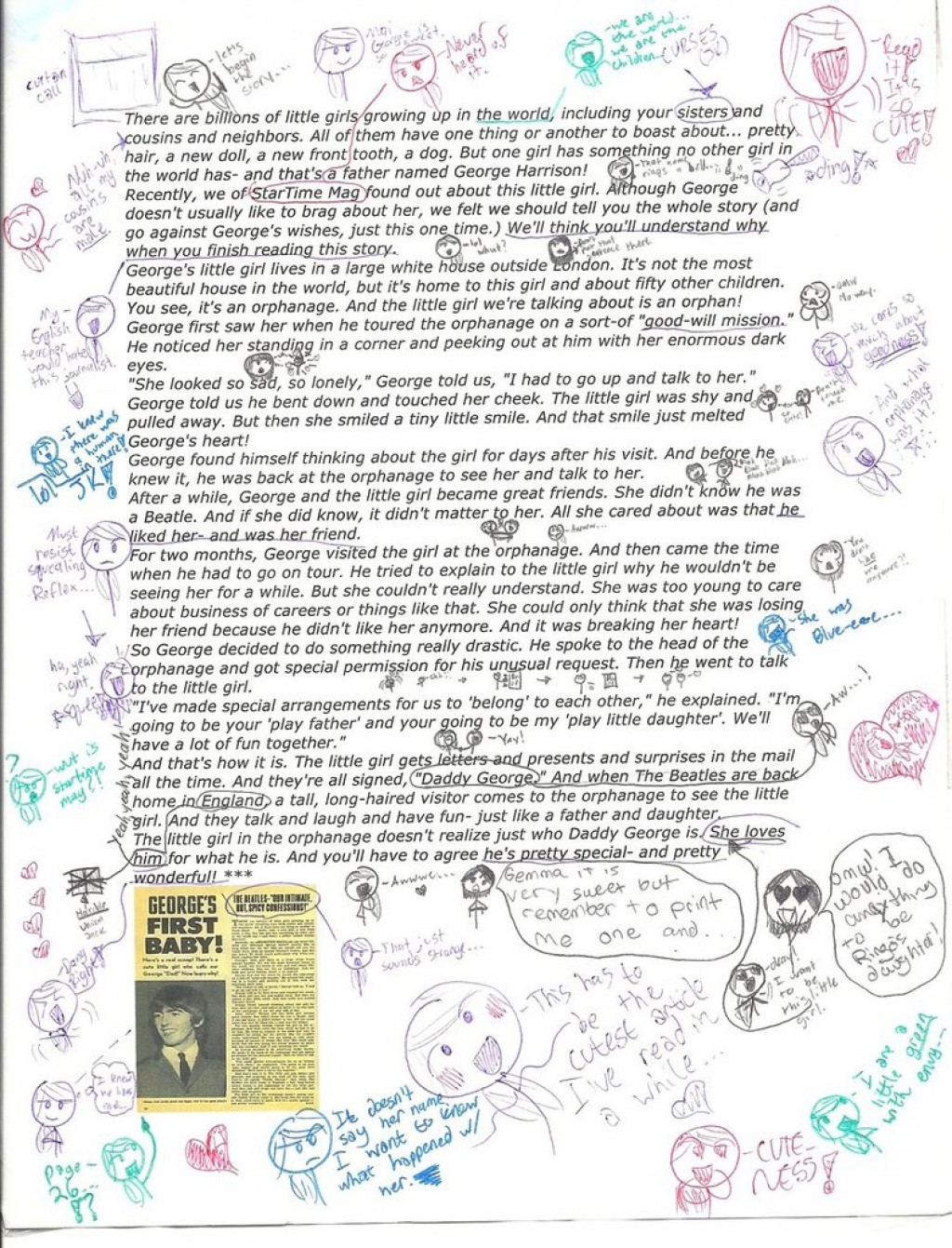 019 My Heavily Annotated Article From And Old Magazine By Dontmindmyname D553alj How To Annotate An Essay Wondrous A Movie In Critical Large