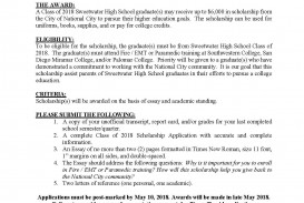 019 No Essay Scholarships For College Students Example Get National City Showimageid4967t6365912738803 Awful 2019