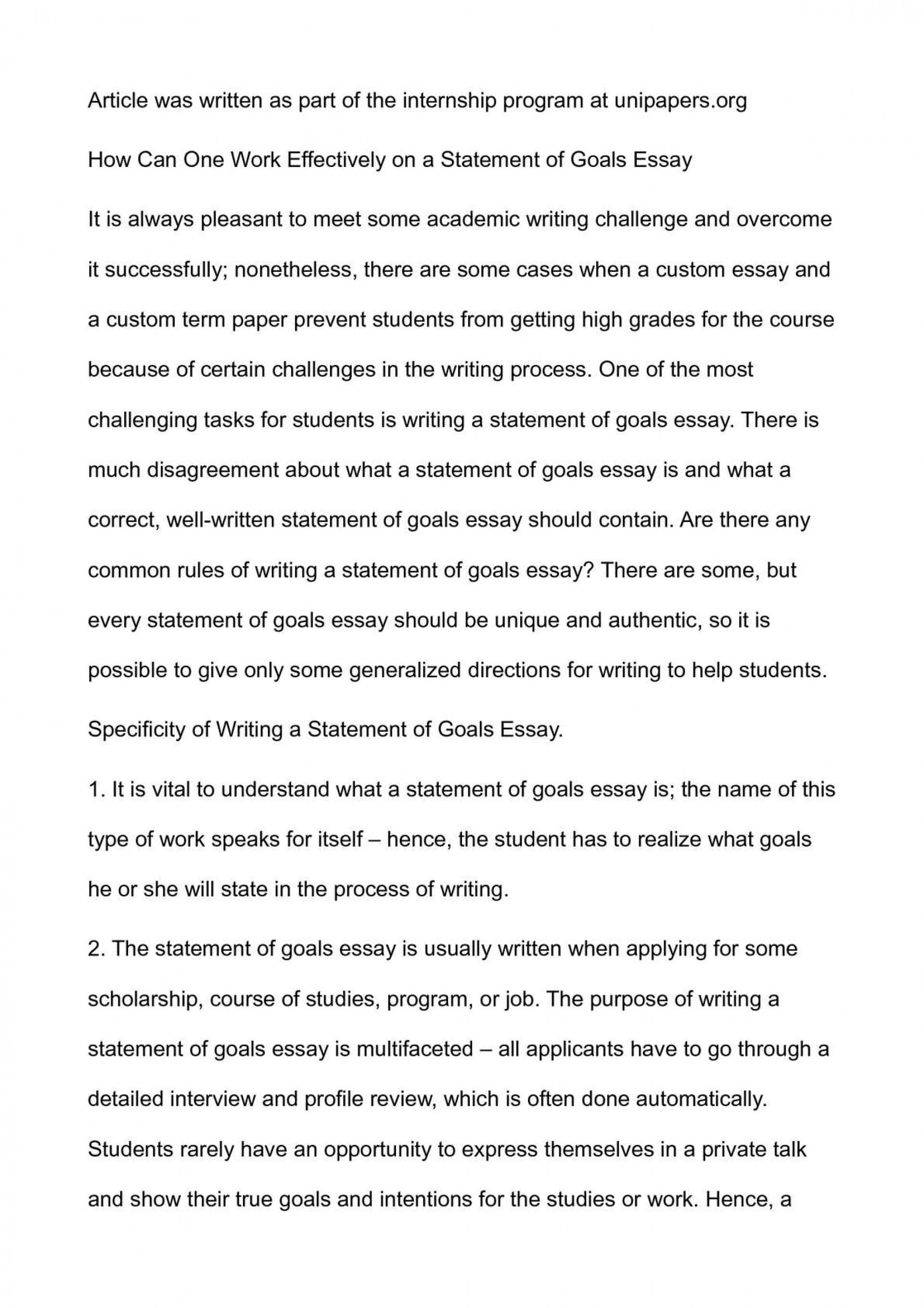 019 P1 Essay Example About Awesome Goals In High School After Career Life 1920