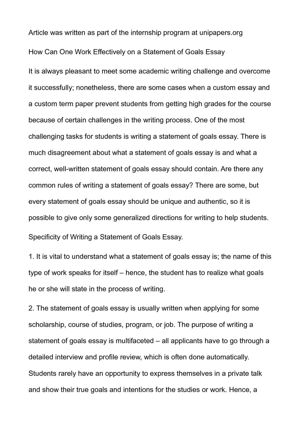 019 P1 Essay Example About Awesome Goals In High School After Career Life Full