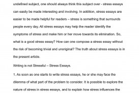 019 P1 Essay On Stress Unforgettable And Health Exam In Hindi