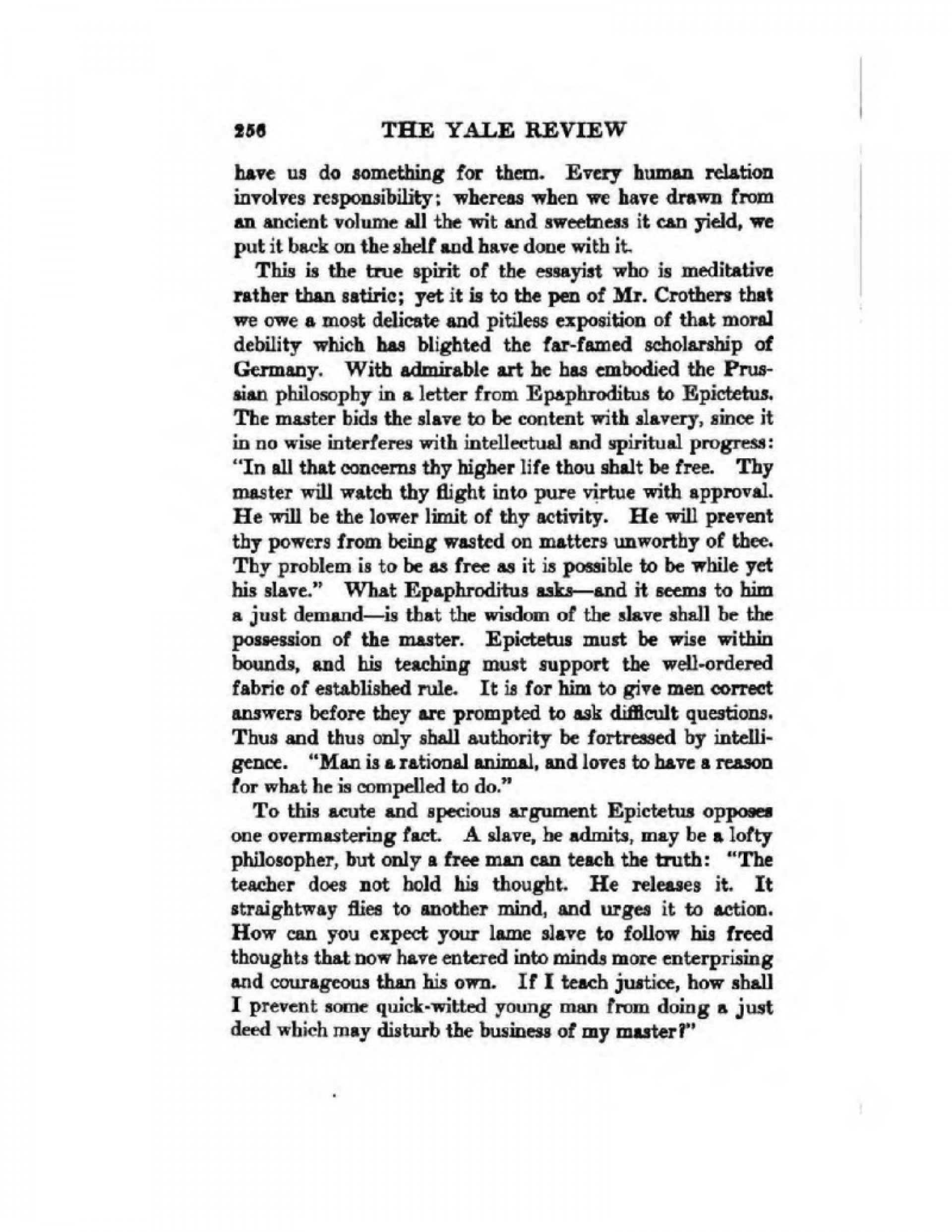 019 Page8 1024px The American Essay In War Time Agnes Repplier 1918 Pdfresize8002c1035ssl1 Courage Fascinating To Kill A Mockingbird Conclusion Thesis Essays Examples 1920