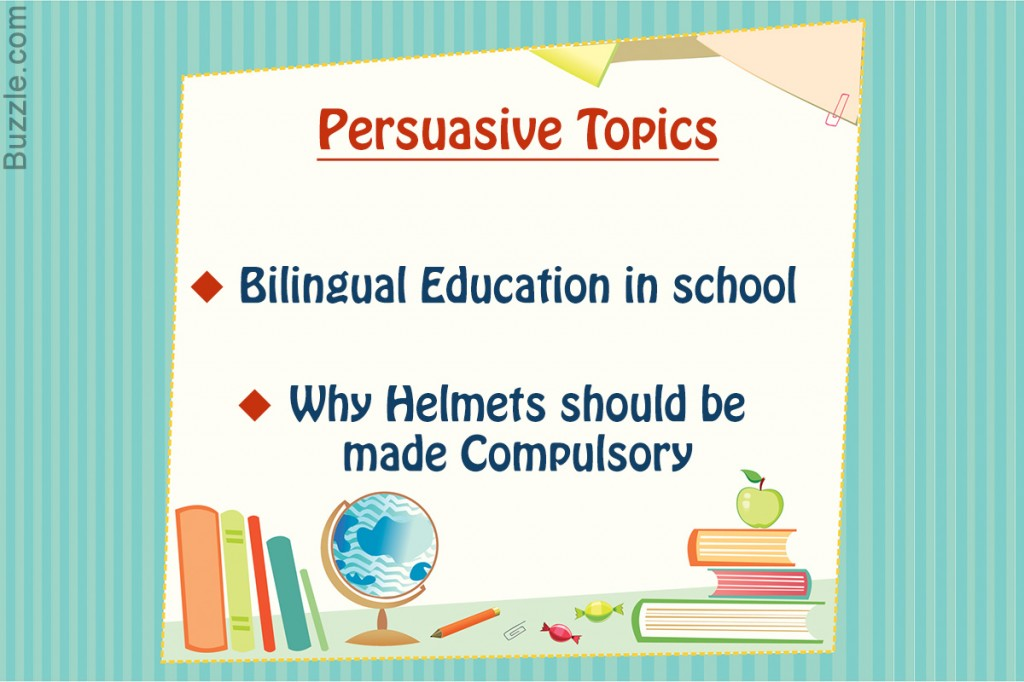 019 Persuasive Essay Topics For Kids Unique Speech Elementary Students Large