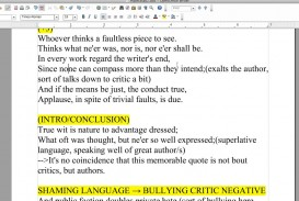 019 Pope Essay On Criticism With Line Numbers Example Outstanding