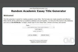 019 Random Essay Generator Stunning Postmodern Prompt
