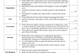 019 Rubrics For Essay Writing College Rubric Essays L Rare Pdf High School Doc In English