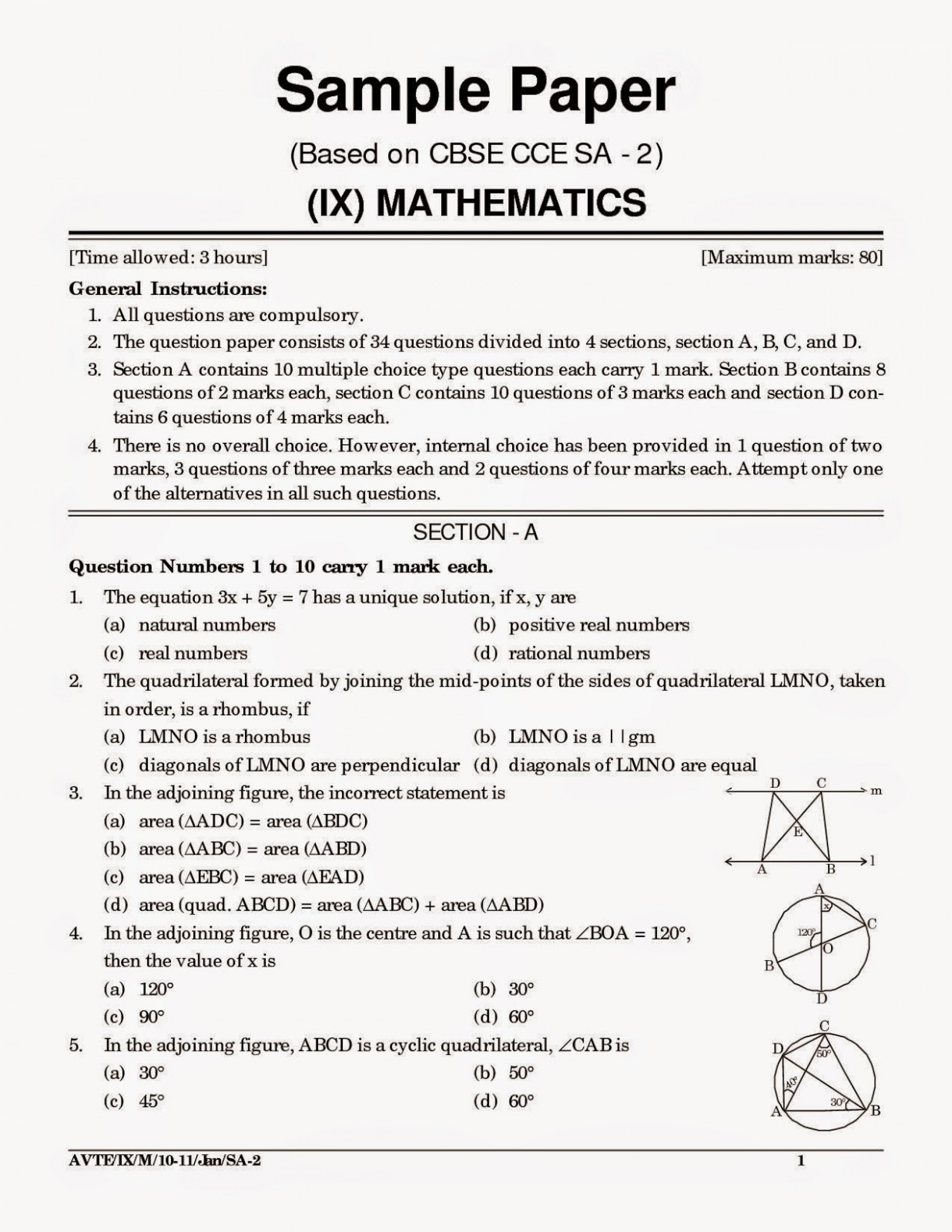 019 Sample Argumentative Essay Cbse20sample20papers20for20class201020mathematics20and20science Jpg Awful Outline Middle School Apa Format Ap Argument Prompts 1920