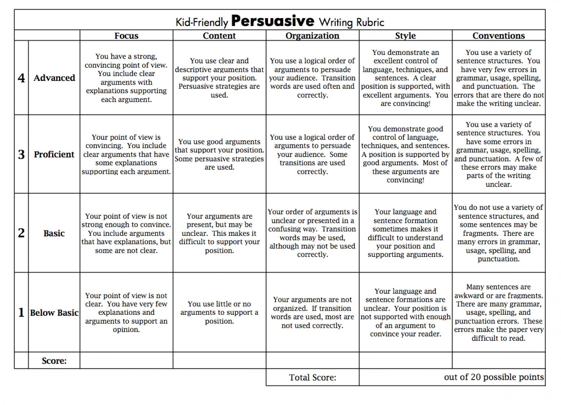 019 Screenshot202014 Essay Example Persuasive Stunning Rubric Argumentative Grade 10 8th Doc Middle School Pdf 1920