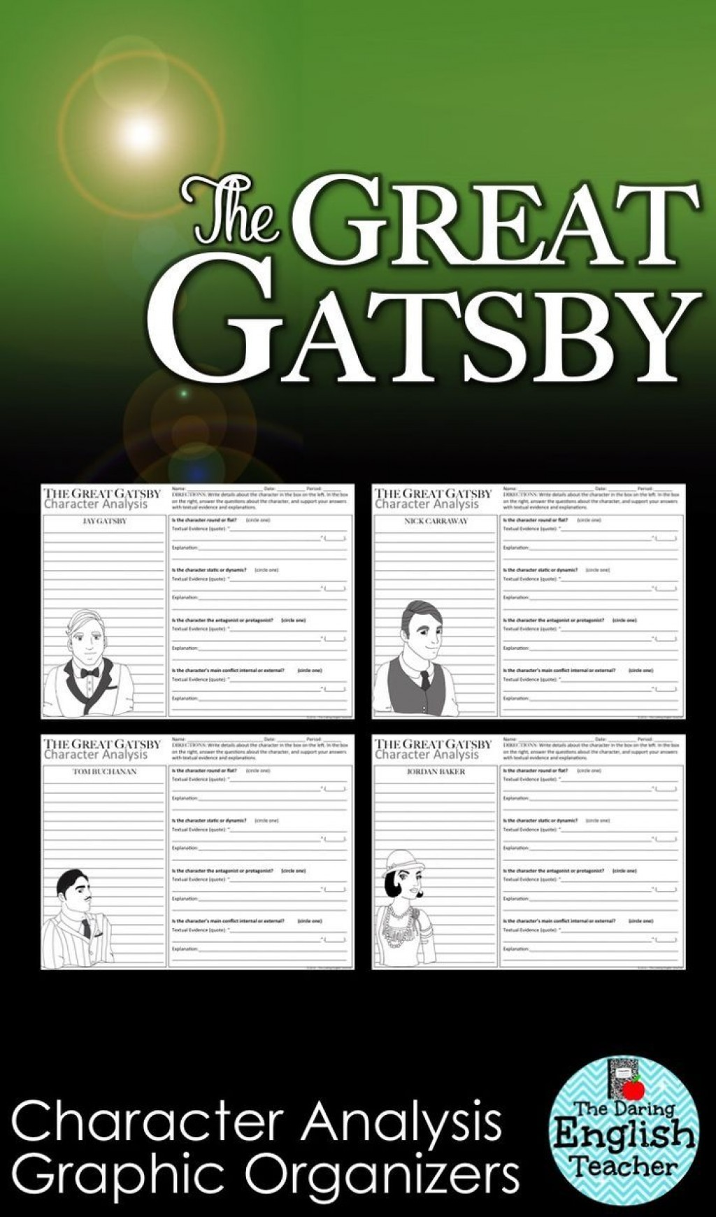 019 The Great Gatsby Essay Topics Example Exceptional Literary Question Chapter 1 Large
