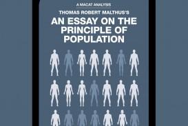 019 Thomas Robert Malthus An Essay On The Principle Of Population Stupendous After Reading Malthus's Principles Darwin Got Idea That Ap Euro