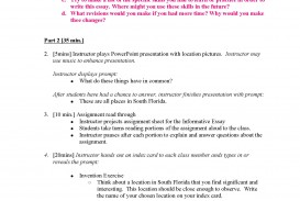 019 What Is An Informative Essay Unit 2 Plans Instructor Copy Page 03 Top Example The Main Purpose Of