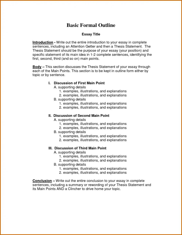 Good essay informal letter