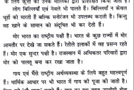 020 10124 Thumb Essay Example Unusual Dog 5 Lines In Hindi Red Examples