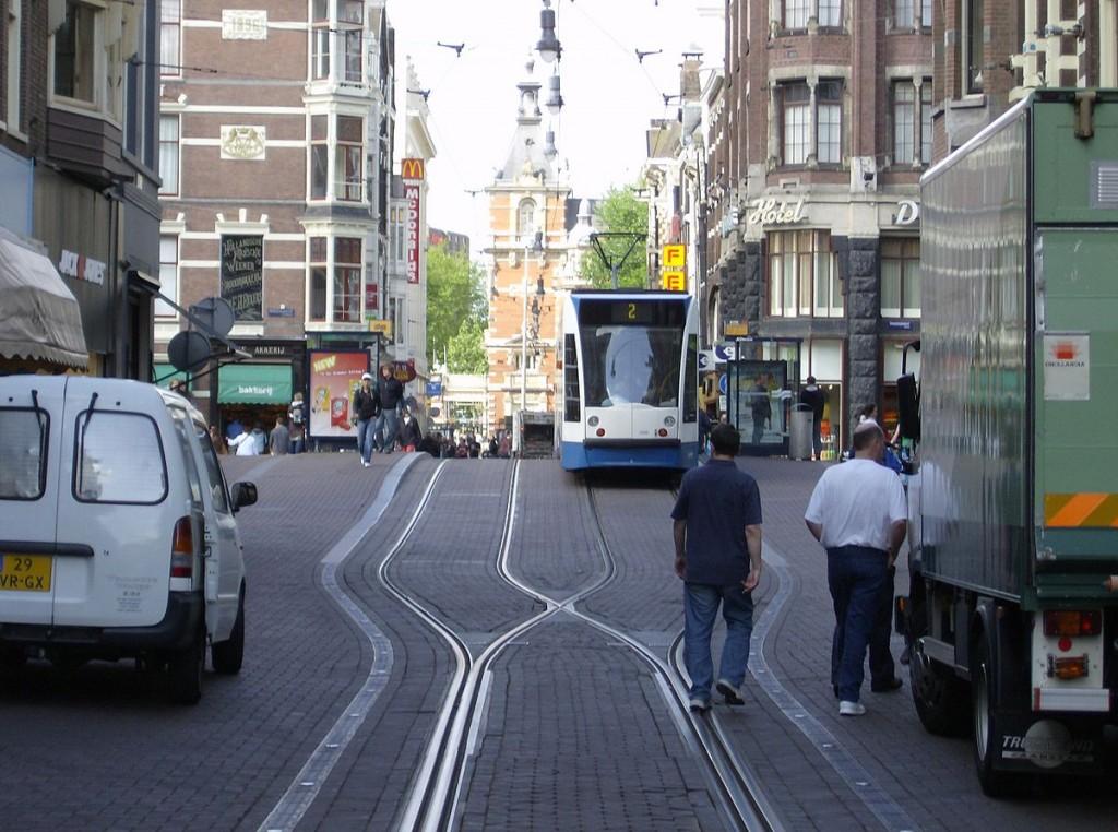 020 1200px Leidsestraat Met Tram Short Essay On Transportation Outstanding My Favourite Means Of Transport Public Water Large