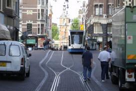 020 1200px Leidsestraat Met Tram Short Essay On Transportation Outstanding My Favourite Means Of Transport Public Water