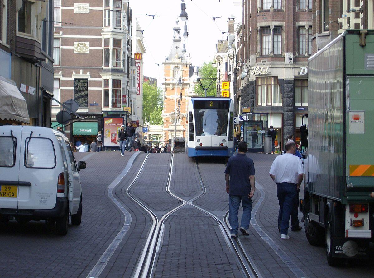 020 1200px Leidsestraat Met Tram Short Essay On Transportation Outstanding My Favourite Means Of Transport Public Water Full