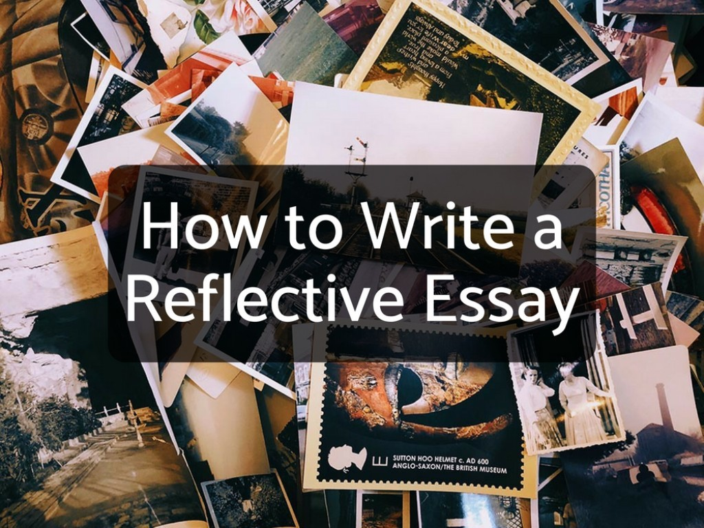 020 14169915 F1024 How To Write Reflection Essay Awesome A Reflective Introduction Example On An Article Course Large