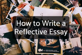 020 14169915 F1024 How To Write Reflection Essay Awesome A Reflective Introduction Example On An Article Course