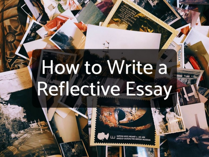 020 14169915 F1024 How To Write Reflection Essay Awesome A Reflective Introduction Example On An Article For University
