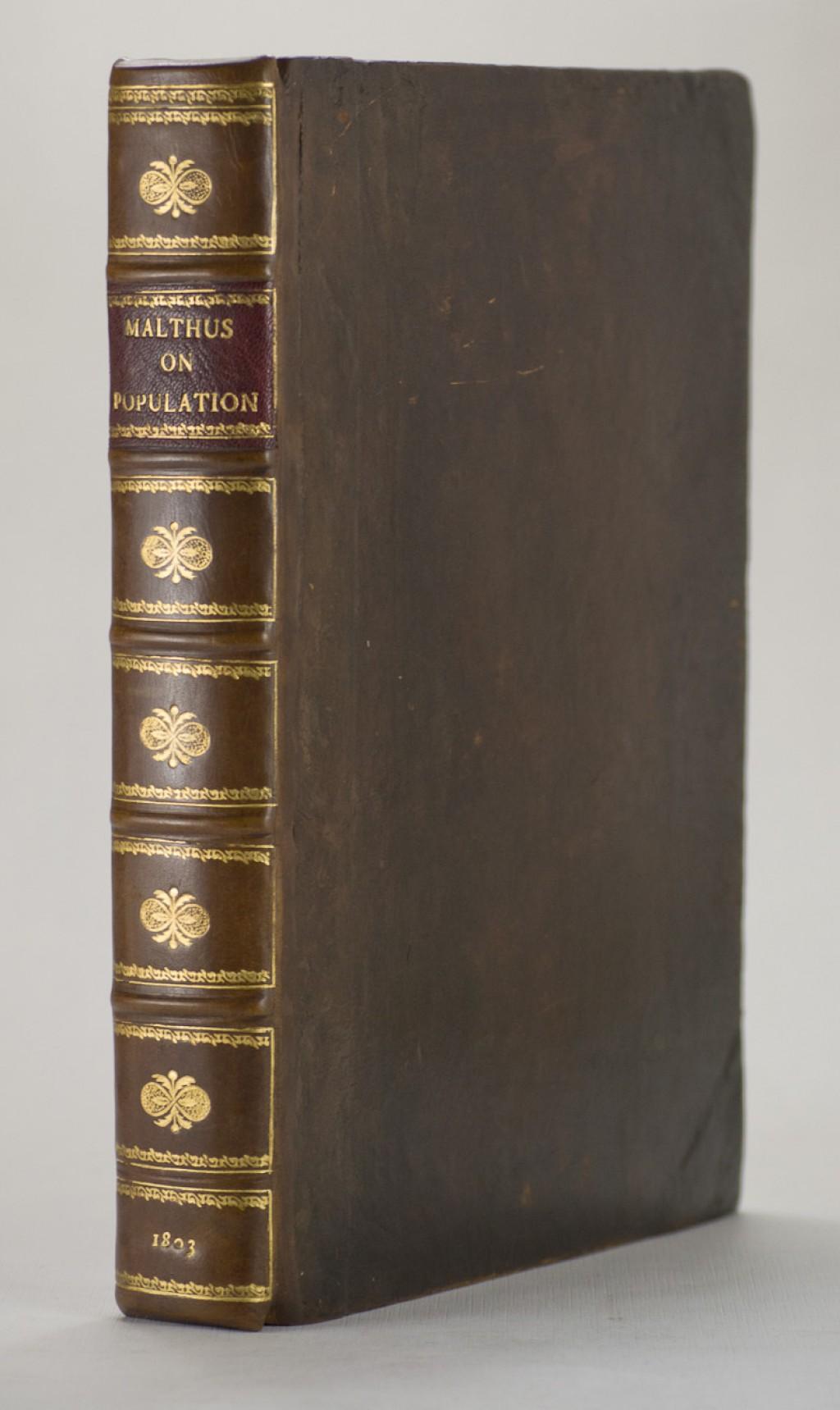 020 65276 1 Essay Example On The Principle Of Singular Population Pdf By Thomas Malthus Main Idea Large