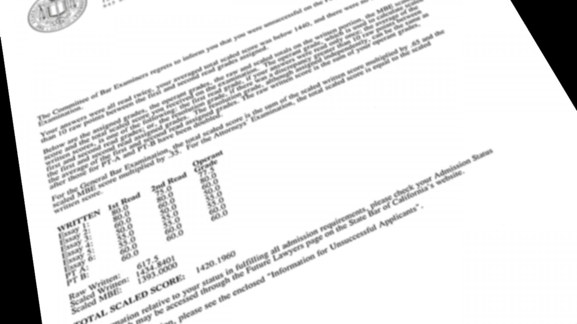Magnificent California Bar Exam Essays ~ Thatsnotus