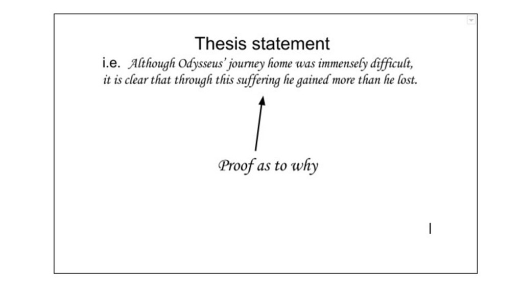 020 An Effective Thesis In Argumentative Essay Must Example Frightening I Present Both Sides Of The Issue Brainly Large