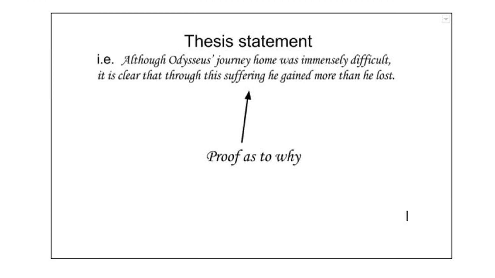 020 An Effective Thesis In Argumentative Essay Must Example Frightening I Present Both Sides Of The Issue Brainly 1920