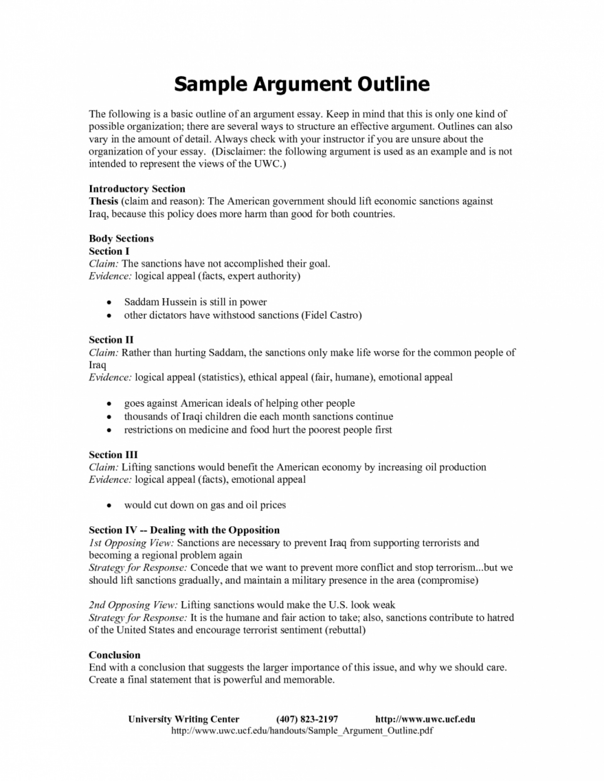 020 Argumentative Essay Outline Template Format For Writing Cv In Ia Example Top Worksheet Pdf 1920