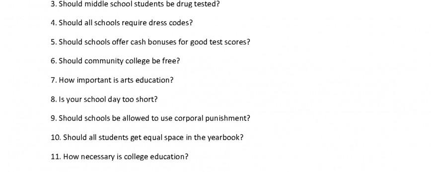 020 Argumentative Essay Prompts Example Writing List Rare Persuasive Topics For 8th Graders 7th 6th Grade