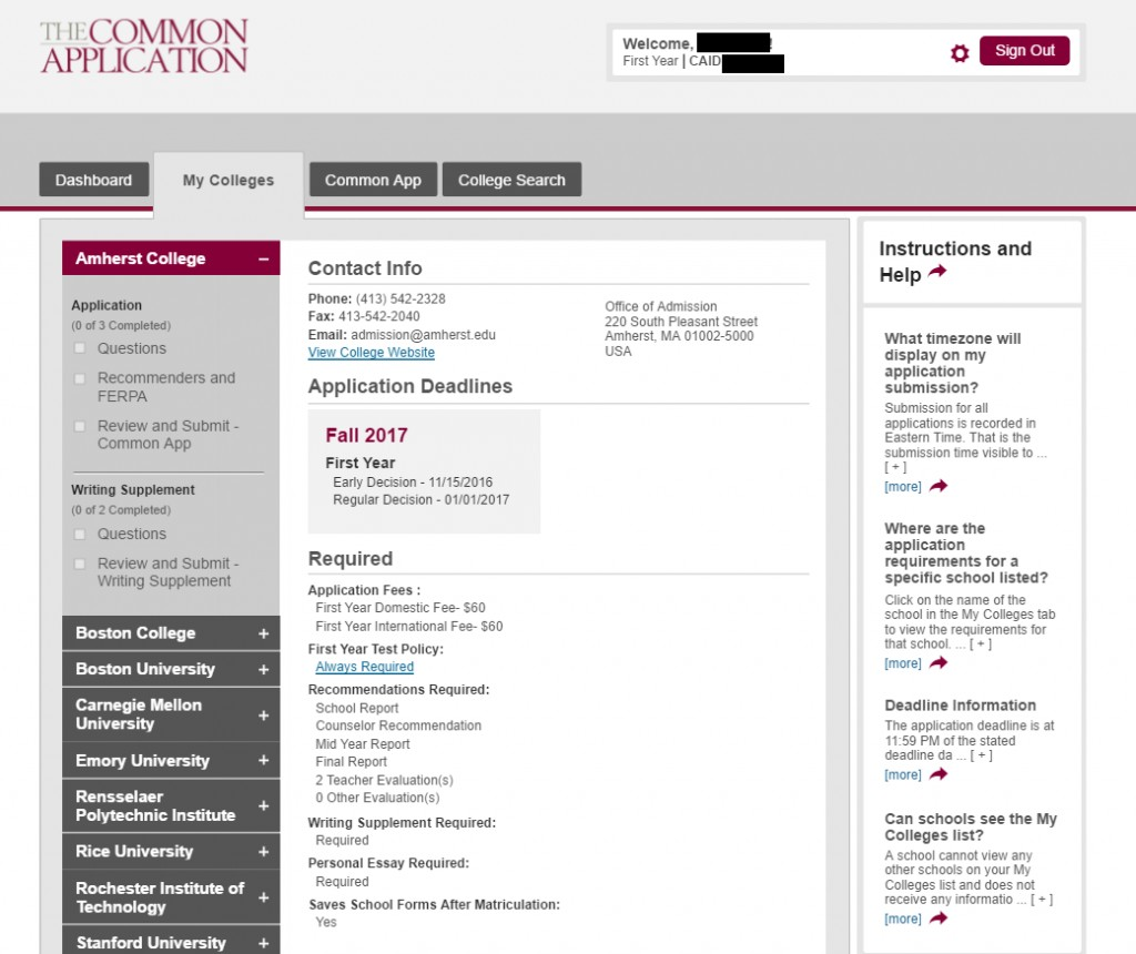 020 Common App Examples My Colleges Best Example Essays Essay Samples Option 1 Prompt 2016 2017 Large