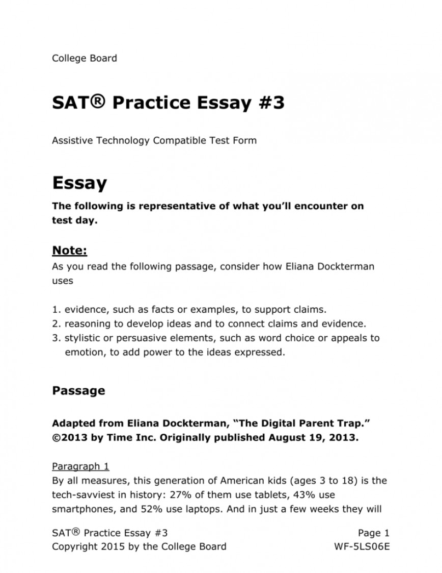 Respect and essay