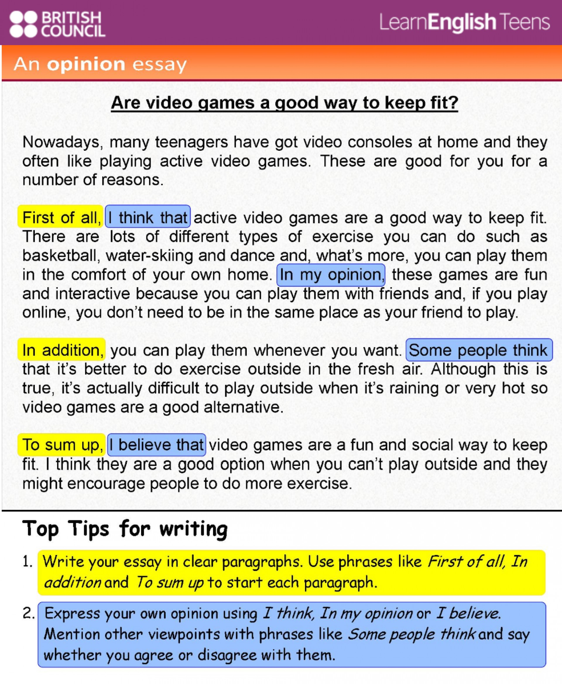 020 Essay Example 44311473 1816952158359937 8446032756424572928 Ow1400 Magnificent Opinion Prompts 6th Grade Examples 3rd 1920