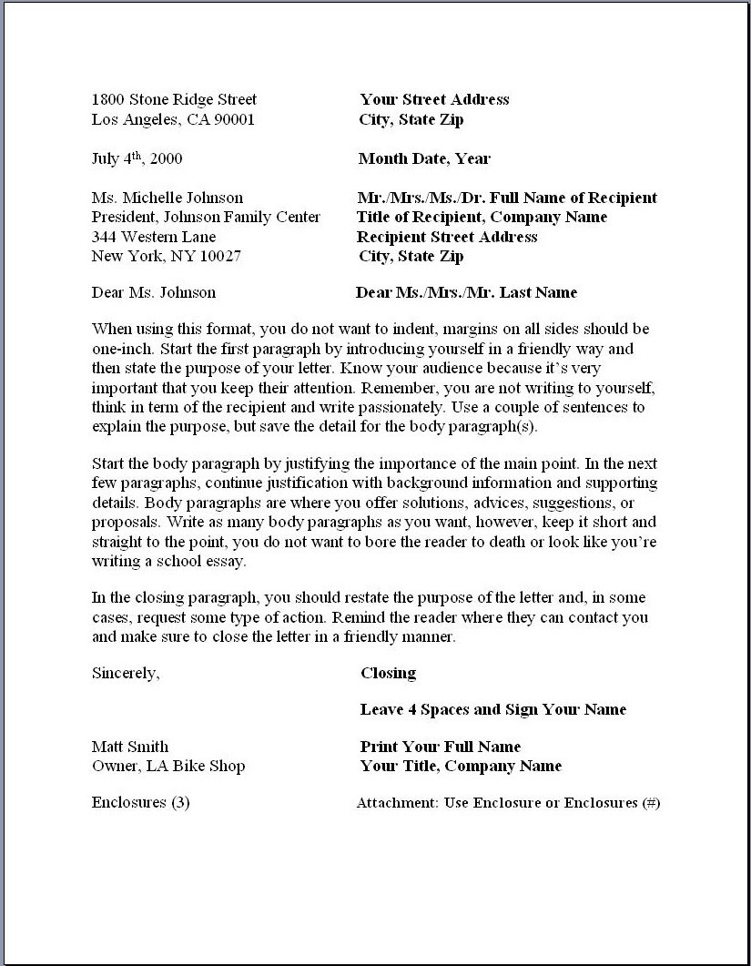 020 Essay Example Business Letterat Proper Formidable Form Paper Format Reflection Full