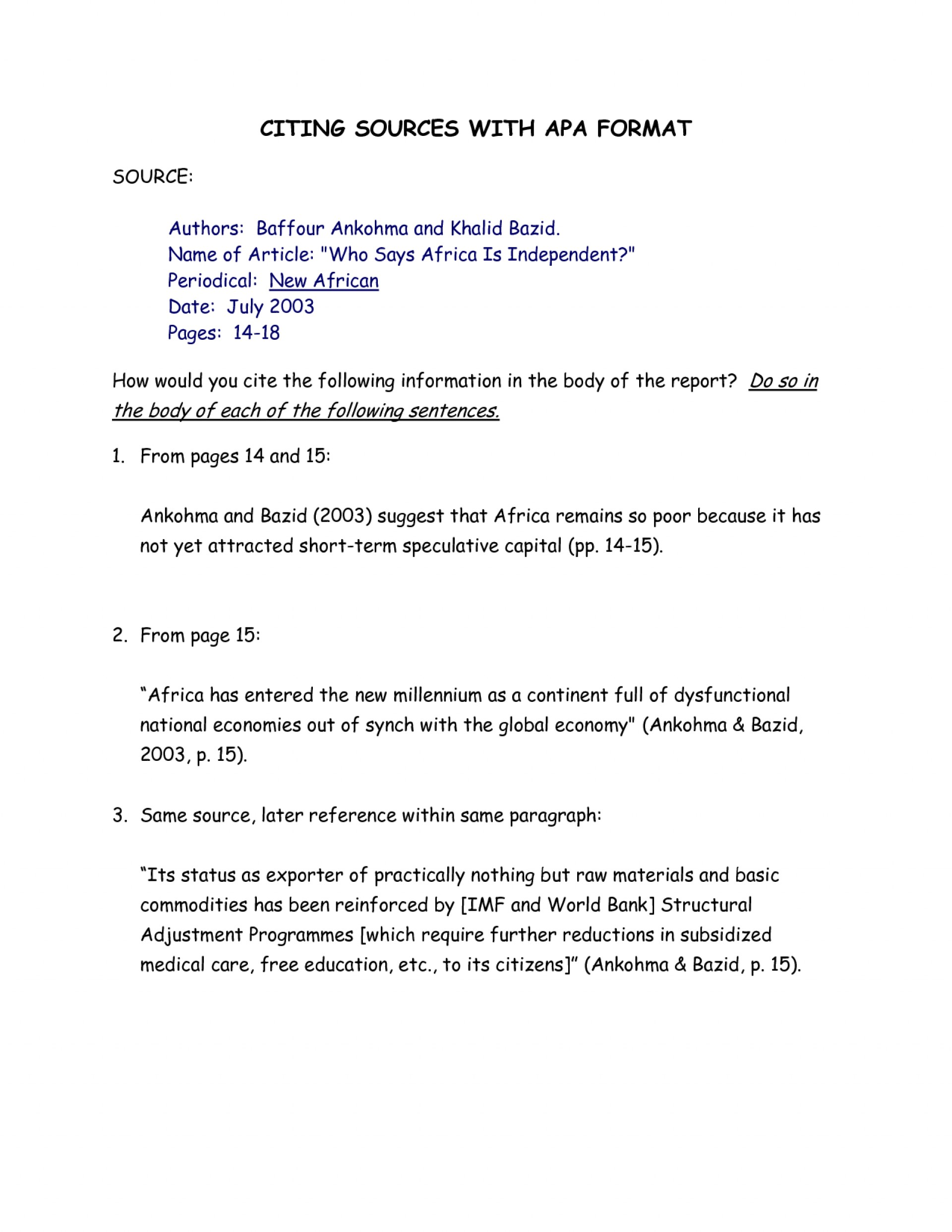 020 Essay Example Citing Sources Apa Format 309734 How To Cite An Wonderful In Online Research Paper Using Unpublished Conference 1920