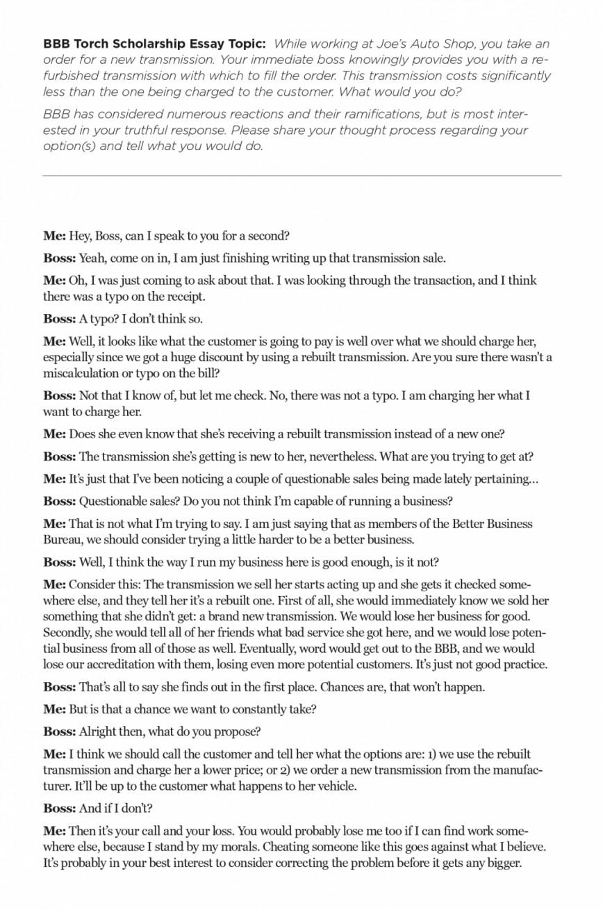 Amazing Short Essay Scholarships ~ Thatsnotus