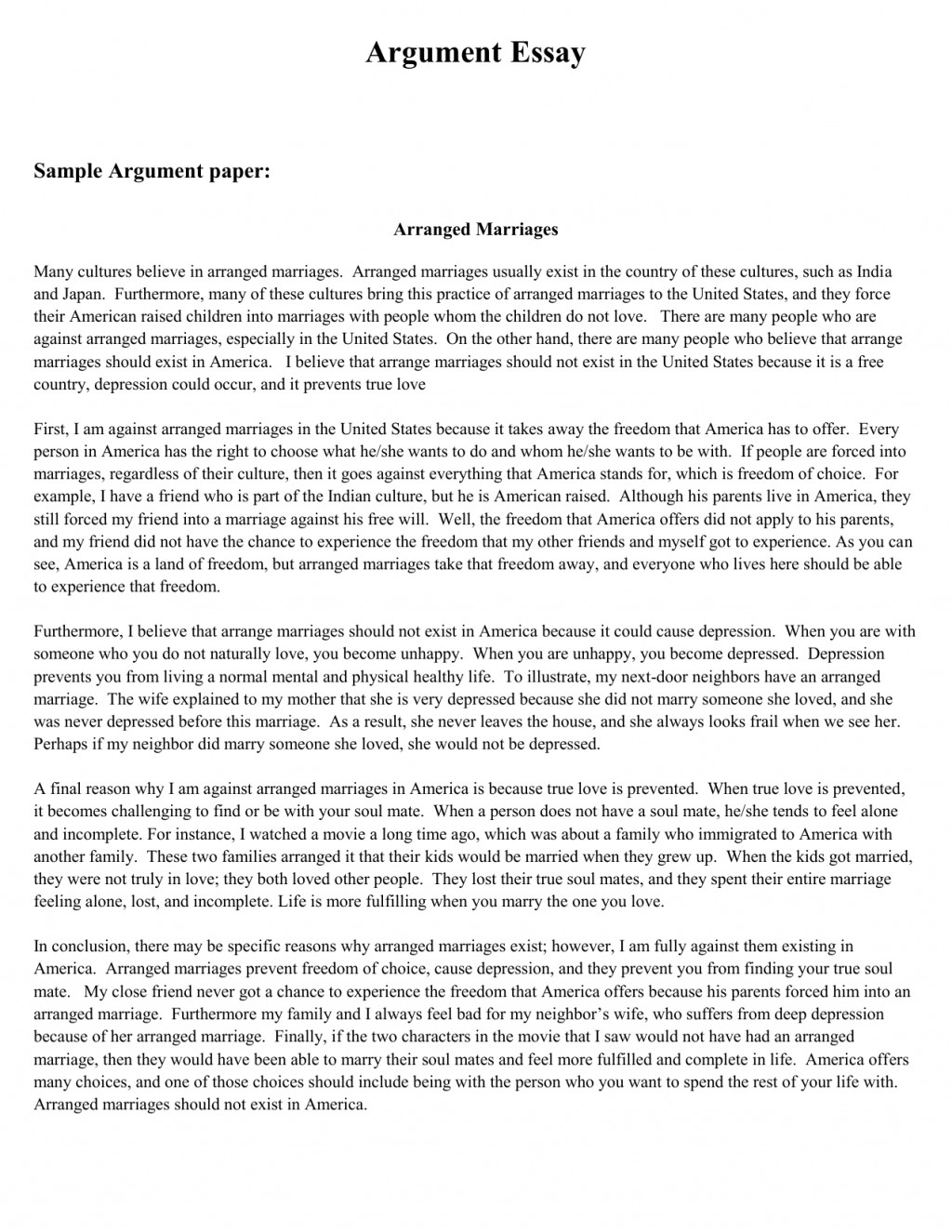 020 Essay Example Freeative Best Solutions Of Samples An Apa Format Unique Academic Stunning Free Argumentative Topics Examples For Middle School On Obesity Large